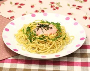たらこスパゲティー170508