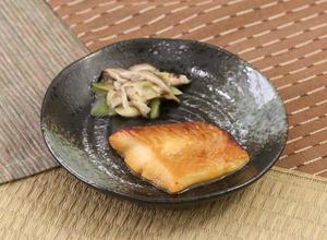 カレイの味噌漬け焼170116