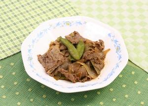 牛肉と玉葱のオイスターソース180718