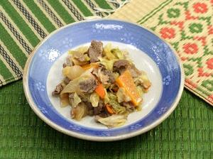 牛肉の甘辛炒め181015B