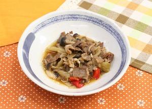 牛肉の炒め物181002