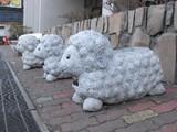 2009.0403登別の羊の置物