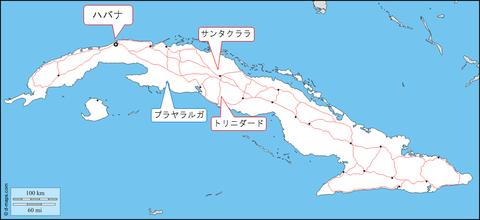 キューバ地図_1