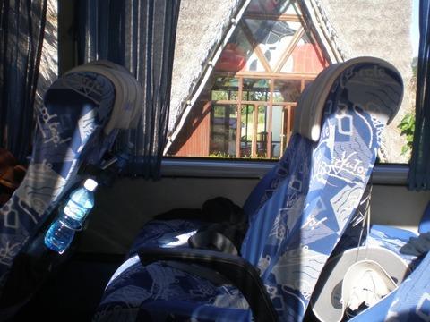 長距離バスの中1