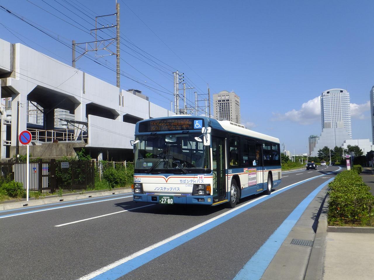 海浜 幕張 イオン バス