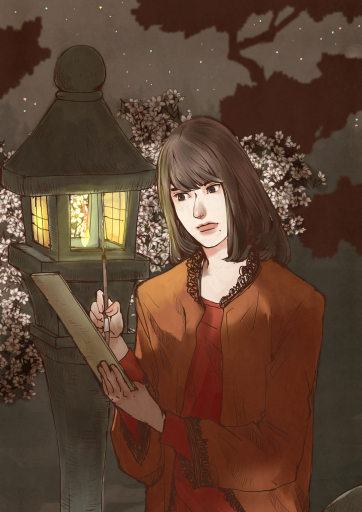 夜桜美人図2