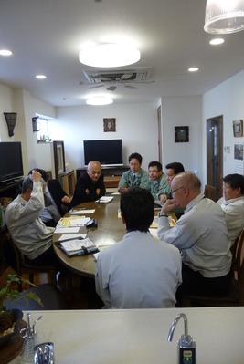 勉強会とメンバー写真の撮影