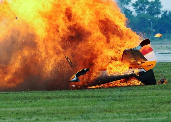 Dayton Air Show_crash