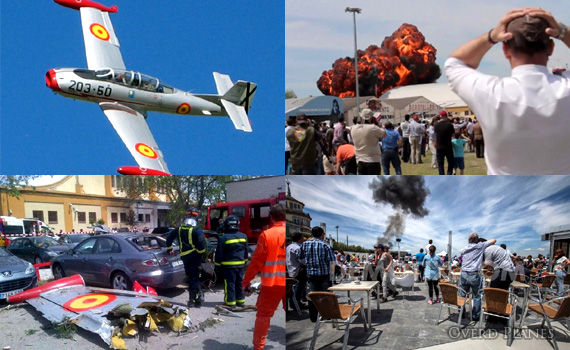 Spain-Air-show-HA-200-crash