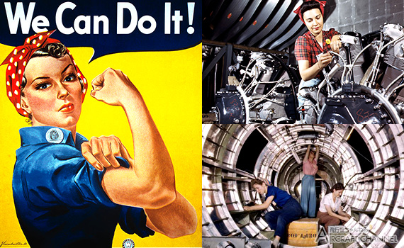 Pictures-of-Women-at-Work-During-WW2-Restored-in-Color