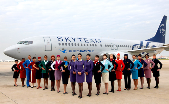 Xiamen-Airlines skyteam
