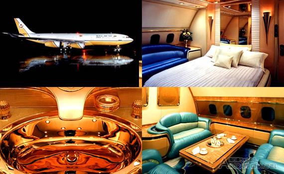 Brunei Sultan Jet A340