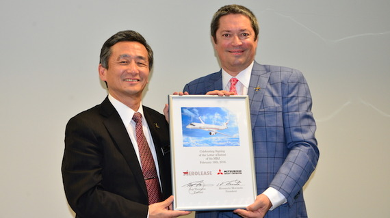20160216_Aerolease-signs-LOI-with-Mitsubishi-Aircraft_1