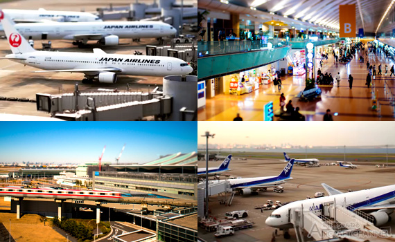 Haneda-Airport-Tilt-Shift