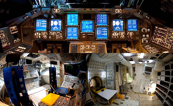Space-Shuttle-Endeavour's-Flight-Deck