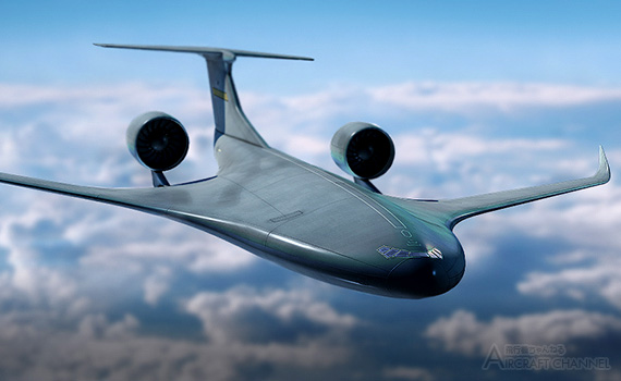 Lockheed-Martin-Refines-Hybrid-Wing-Body-Airlifter-Concept