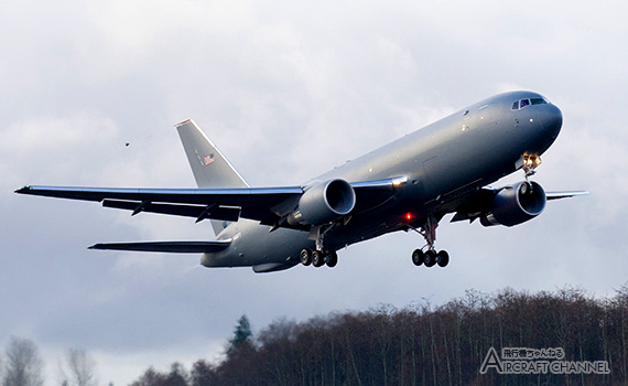 Boeing-KC-46A- First-Flight