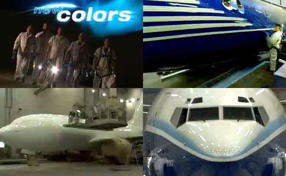Paint-a-Boeing-737-700-with
