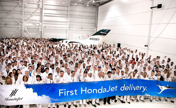 First-hondajet-delivery