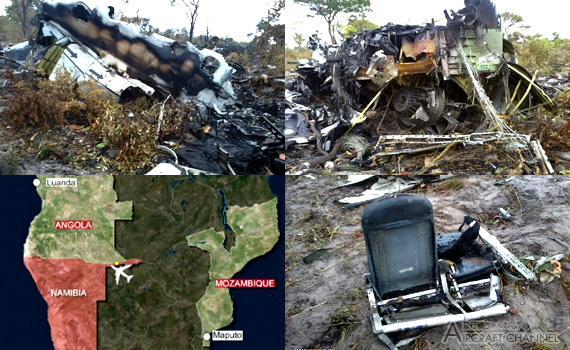 Namibia-plane crash-33-kill