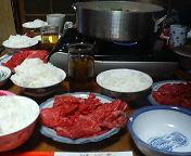 いのしし鍋1