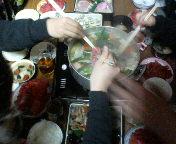 いのしし鍋2