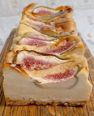 ゴルゴンゾーラといちじくのチーズケーキ2021