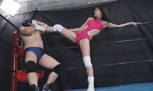 プロレス女王と呼ばれた新妻レスラー小室優奈の惨劇3