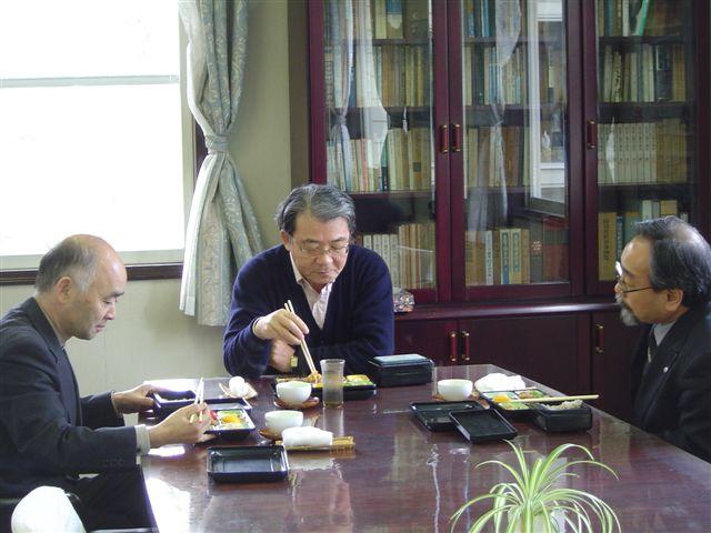 滝沢武久参与、松友理事訪問 : ...