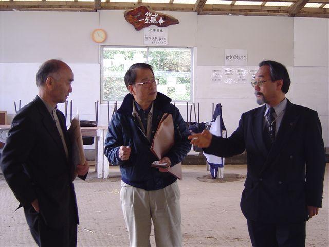 滝沢武久参与、松友理事訪問 : デジカメ日記