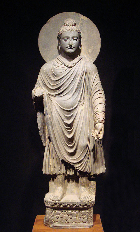 618px-Gandhara_Buddha_(tnm)