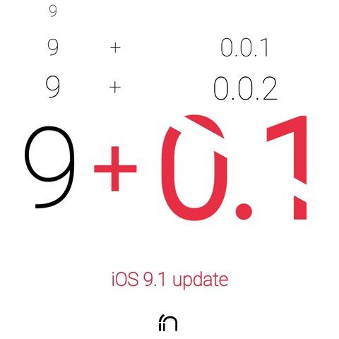 【新iOS】アップル、iOS 9.1をリリース