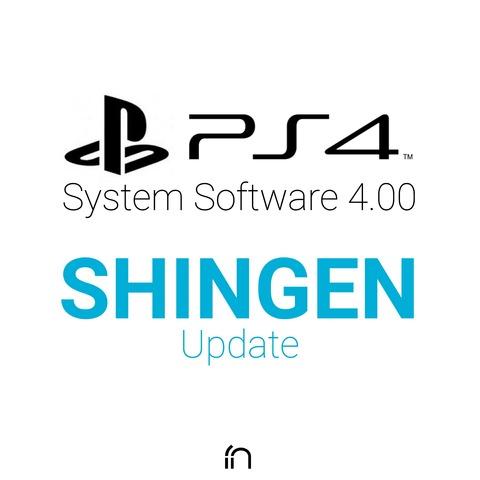 """【PS4】システムソフトウェア 4.00 """"SHINGEN""""をインストールしてみました 【Beta】"""