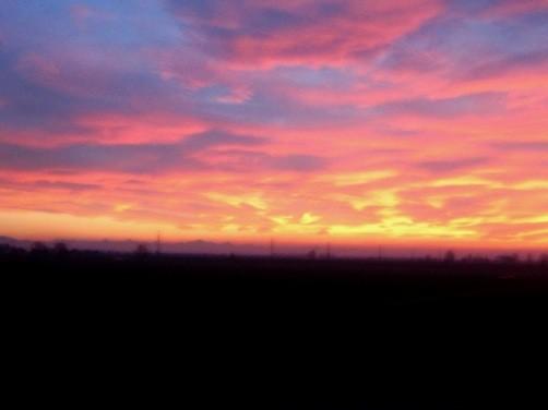 朝の通勤風景