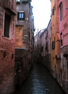 2007年1月 ヴェネツィアで