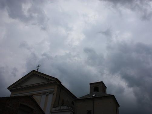 日曜日の空