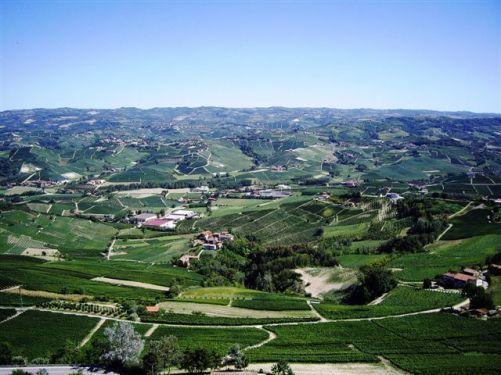 ラ・モッラからの眺め。 夏の終わり