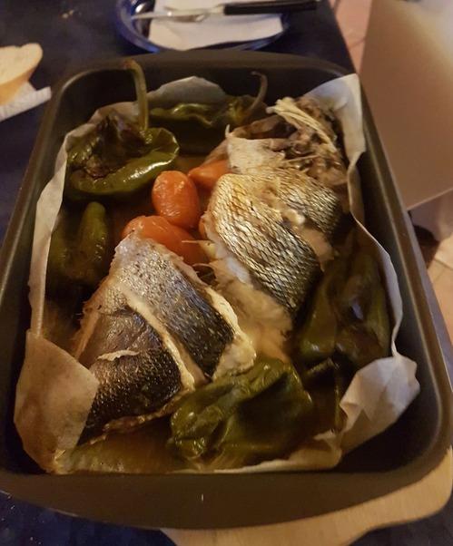 魚のグリル (2)