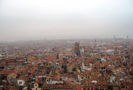 冬のヴェネツィアで