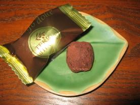 アルバのトリフのチョコレート