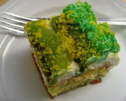 キウィのケーキ