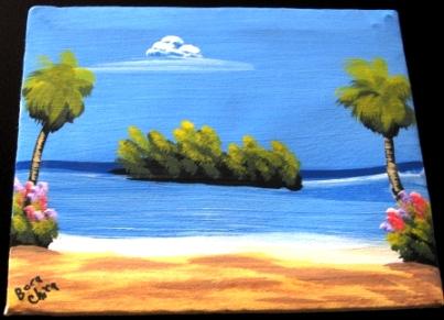 サントドミンゴの海
