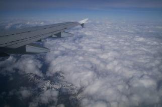 ミラノ離陸後