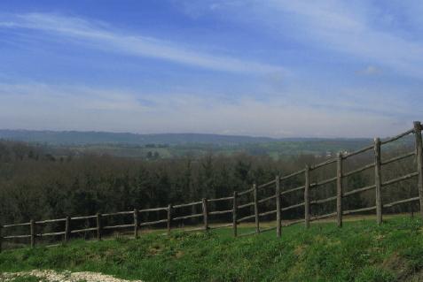 ウンブリアの丘