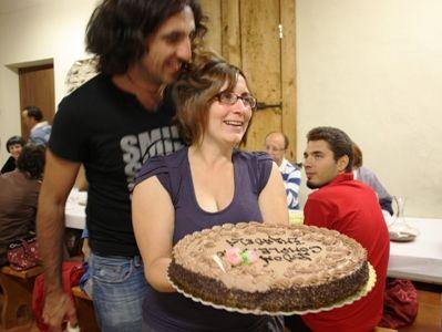 ケーキとファビオと