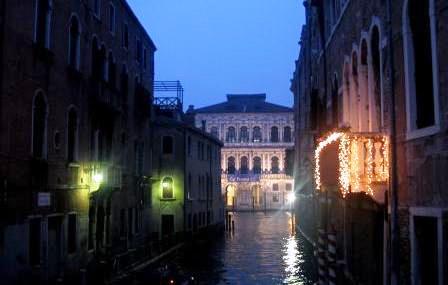 朝のヴェネツィア 2007年1月