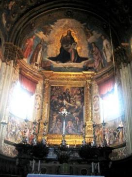 クレモナの大聖堂で