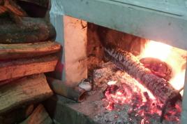 暖炉 カラーラ