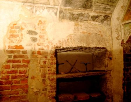 古いワイン貯蔵室