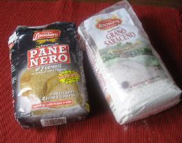 小麦粉とそば粉